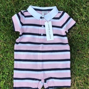NEW Janie and Jack 100% cotton onesie 0-3 month